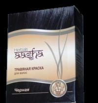 """Aasha Herbals"" Травяная краска. Цвет - чёрный"