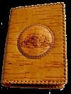 Обложка для автодокументов из бересты